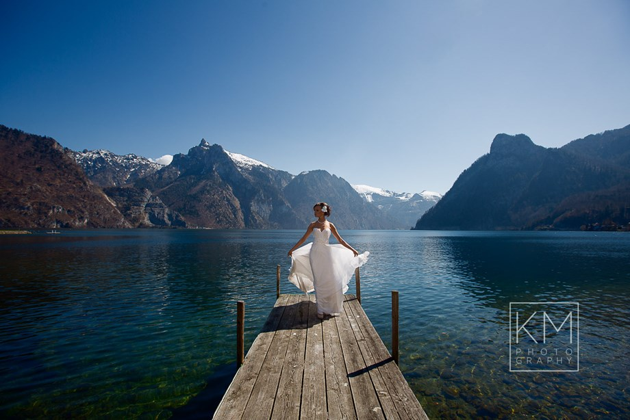Hochzeitsfotograf: After Wedding am Traunsee - Klaus Mittermayr KM-Photography