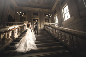 Hochzeitsfotos - Trash your Dress - Museo di Correr, Venedig  - Ralf Milde