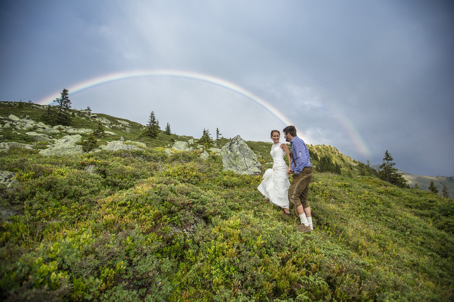 Hochzeitsfotograf: Let´s go there to the rainbow and further. - Stefan Kothner Photography