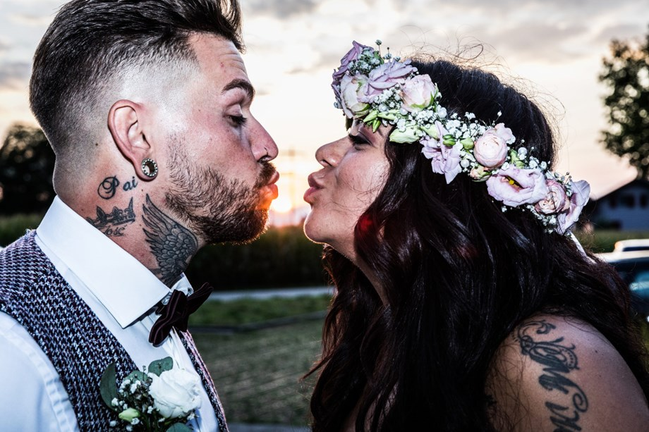 Hochzeitsfotograf: Kiss the sun....