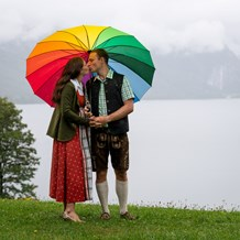 Hochzeitsfotograf: Verlobungsshooting am Grundlsee. 